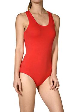 Basic Scoop Neck Cotton Bodysuit Sleeveless ... a4e37e430