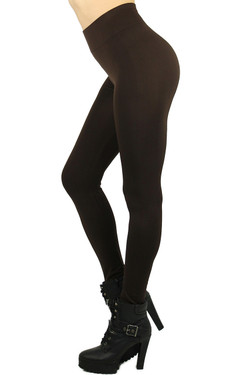 Plus Size Basic Spandex Full Length Leggings