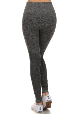 Heathered Athletica Workout Leggings