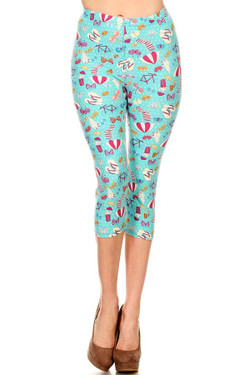 Summer Beach Party Capris - LIMITED EDITION