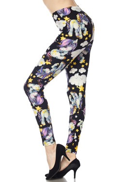 Buttery soft Cutie Pie Baby Unicorn Plus Size Leggings