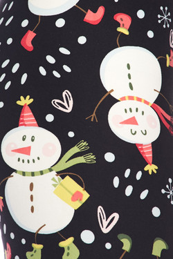 Buttery Soft Frosty the Snowman Kids Leggings