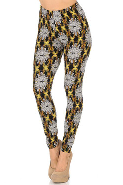 Buttery Soft Elegant Emblem Leggings