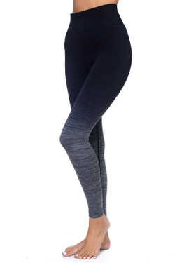 Body Flatter Color Blend Workout Leggings