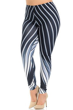 Creamy Soft Contour Body Lines Plus Size Leggings - Signature Collection