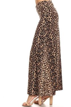 Buttery Soft Feral Cheetah Maxi Skirt