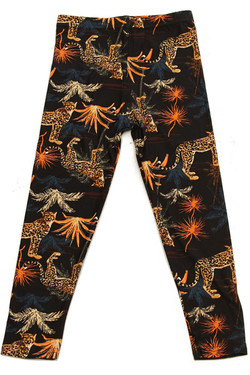 Buttery Soft Bold Cheetah Kids Leggings