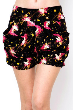 Buttery Soft Twinkle Unicorn Shorts