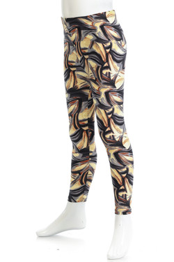 Buttery Soft Mini Brush Strokes Kids Leggings
