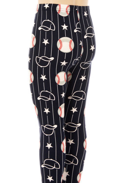 Buttery Soft My Baseball Kids Leggings