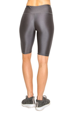 Liquid Shiny Athletic Sport Shorts