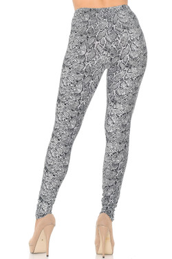 Buttery Soft Snakeskin Leggings