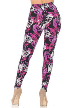 Buttery Soft Stars and Plaid Hearts Leggings