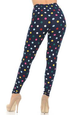 Buttery Soft Colorful Polka Dot Leggings