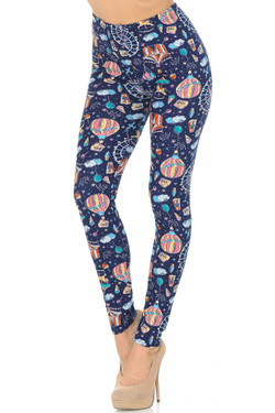 Buttery Soft Vintage Carnival Leggings