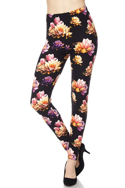 Playful Floral Leggings