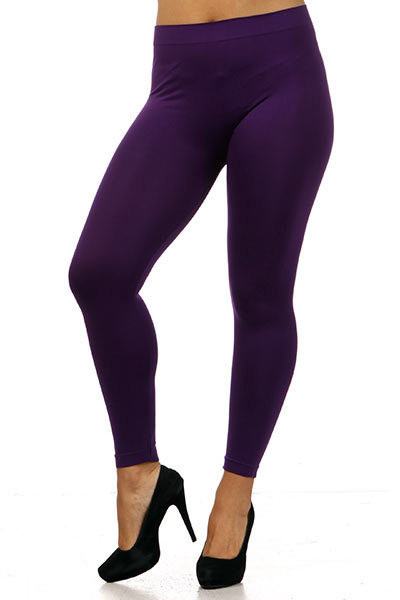 cfd2ee56208 Full Length Seamless Leggings - Plus Size