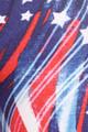 Beautiful Blue USA Flag Plus Size Leggings