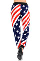 Twisted USA Flag Joggers