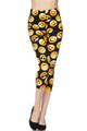Buttery Soft Classic Emoji Plus Size Capris