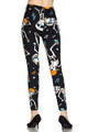 BrushedDancing Skeletons Plus Size Leggings - 3X-5X