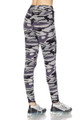 Buttery Soft Gray Camouflage Joggers