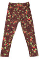 Buttery Soft Christmas Holly Kids Leggings