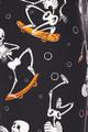 Buttery Soft Skateboarding Skeletons Plus Size Leggings - 3X - 5X