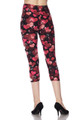 Buttery Soft Motley Valentine Hearts Capris