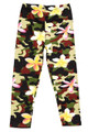 Buttery Soft Daisy Camouflage Kids Leggings