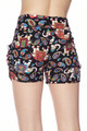 Buttery Soft Classic Paisley Elephant Shorts