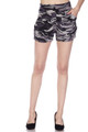 Buttery Soft Monochrome Camouflage Shorts