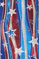 Buttery Soft Metallic USA Flag Plus Size Leggings