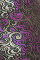 Close-up fabric image of Buttery Soft Purple Tangled Swirl Plus Size High Waisted Leggings