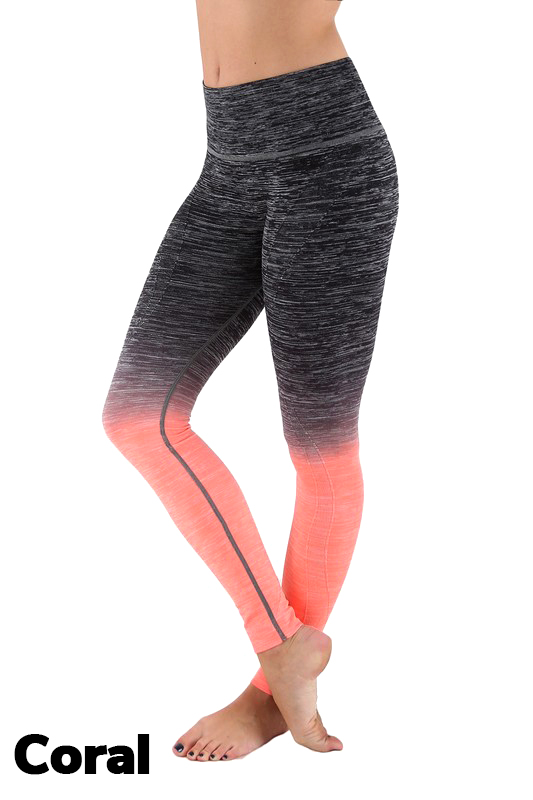 dd1893bd5b2 Wholesale Ombre Fusion Workout Plus Size Leggings. Tap to expand