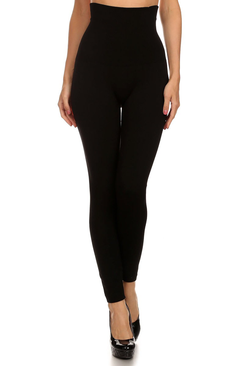 8645f6586 High Waist Fleece Lined Compression Leggings. Tap to expand
