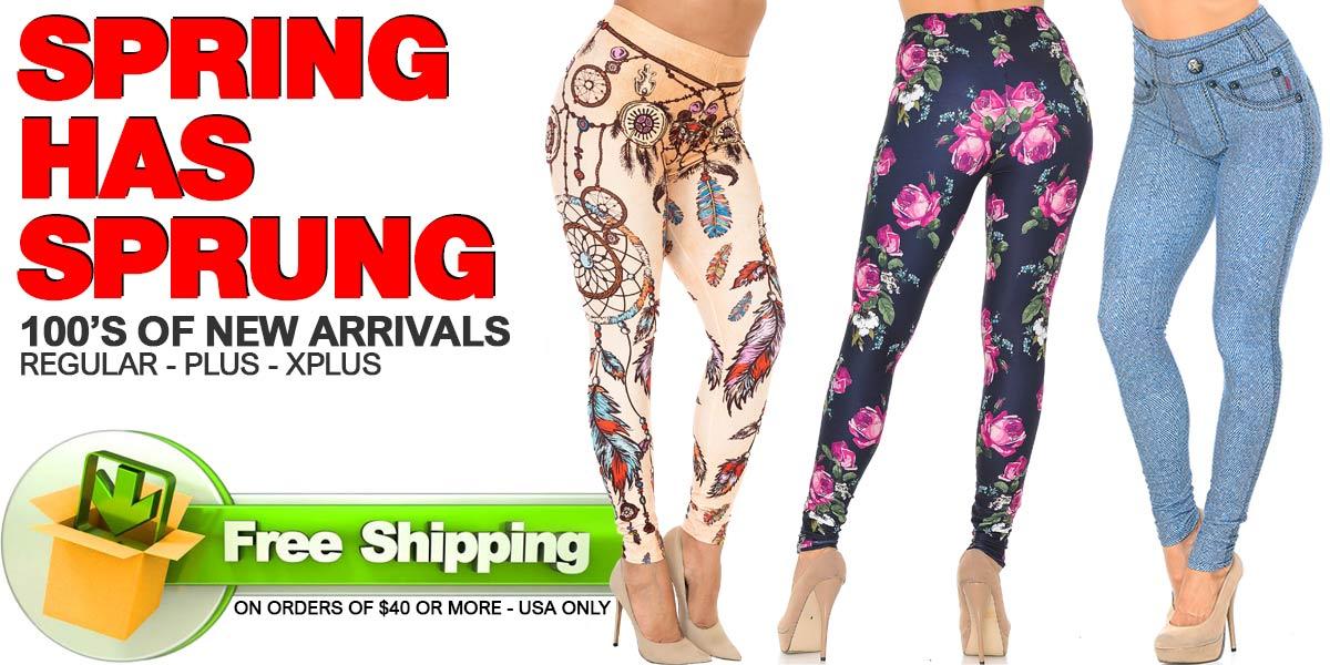 Shop Spring and Summer Leggings