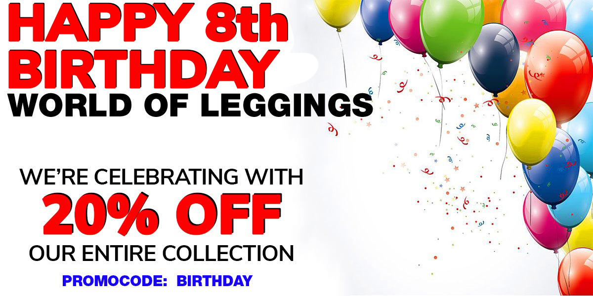 World of Leggings Birthday Sale