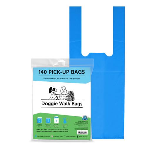 140 Tie Handle Poop Bags