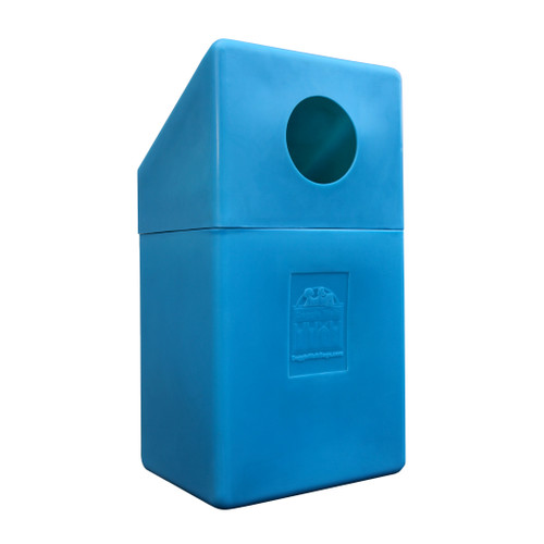Trash Bin for Dog Waste Bag Dispensers