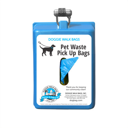 Tie Handle Mini Dog Waste Bag Dispenser