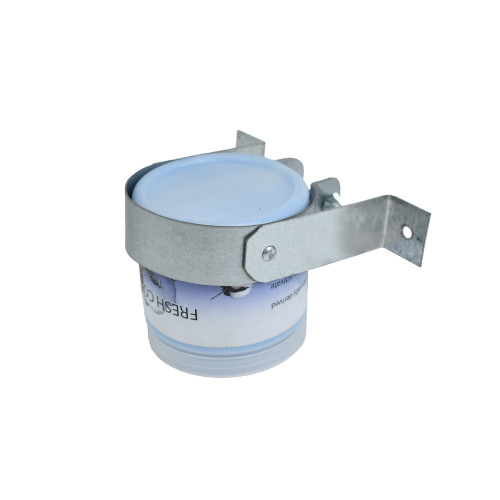 Trash Bin Bracket and Freshener