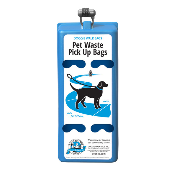 4 Roll Dog Waste Bag Dispenser