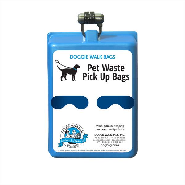 2 Roll Mini Dog Waste Bag Dispenser