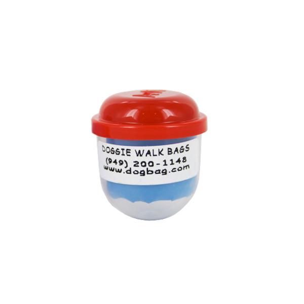 Capsule with custom sticker