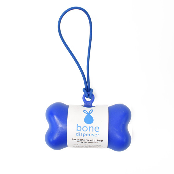 Bone Waste Bag Dispenser with custom wrap packaging