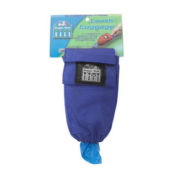 Leash Luggage Waste Bag Holder