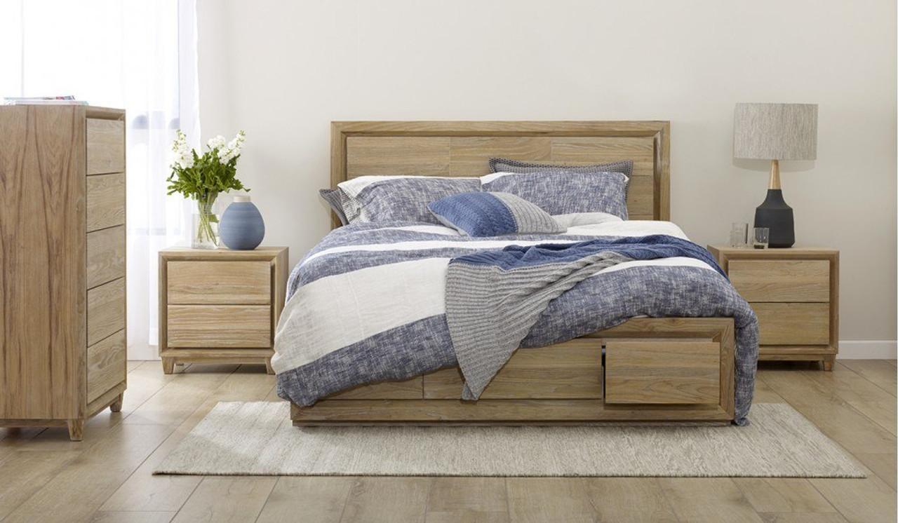 Picture of: Apollo Queen Tallboy Bedroom Suite Bedsonline