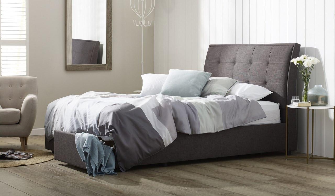 Queen Bed.Montego Bed
