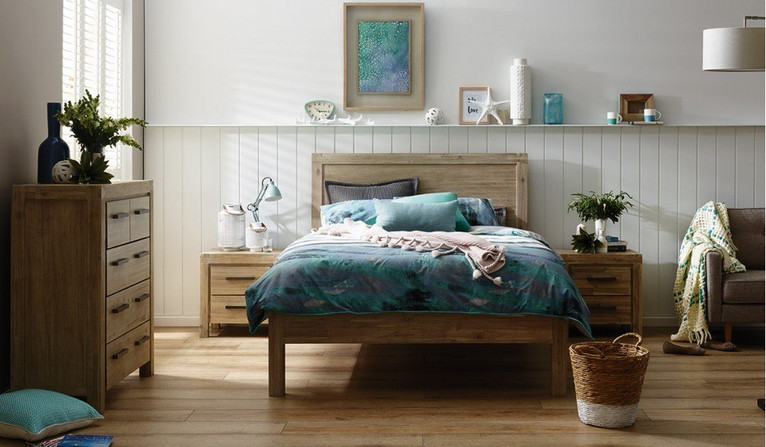 Tuscany 4 pce tallboy bedroom suite